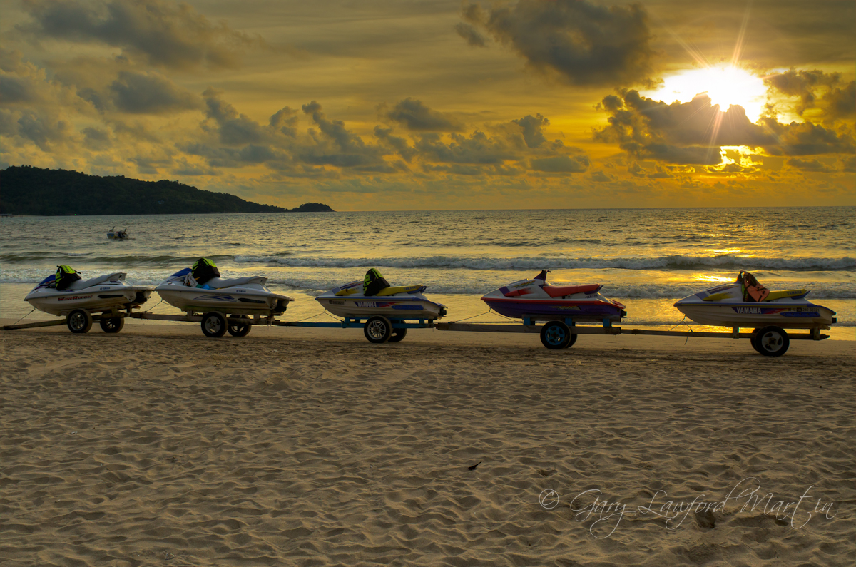 Patong Beach Ski Train