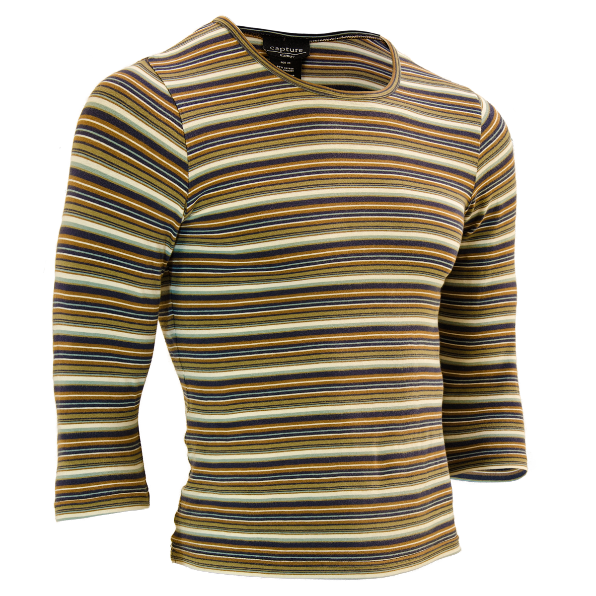 Invisible Mannequin Striped Shirt