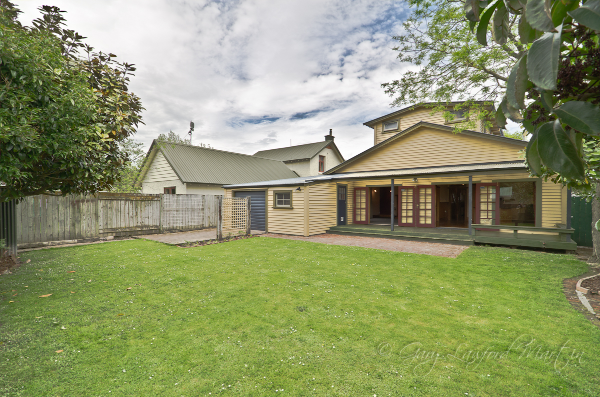25 Ranfurly St Back Yard