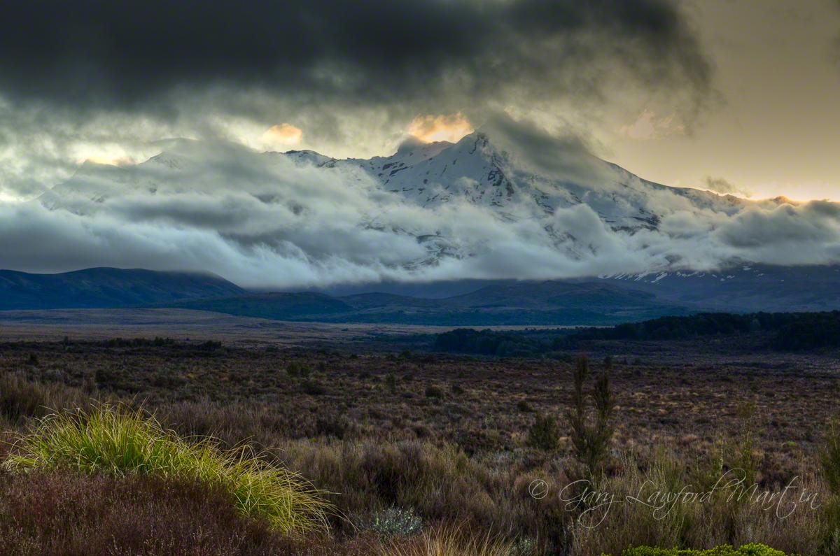 Mt Ruapehu Dusk