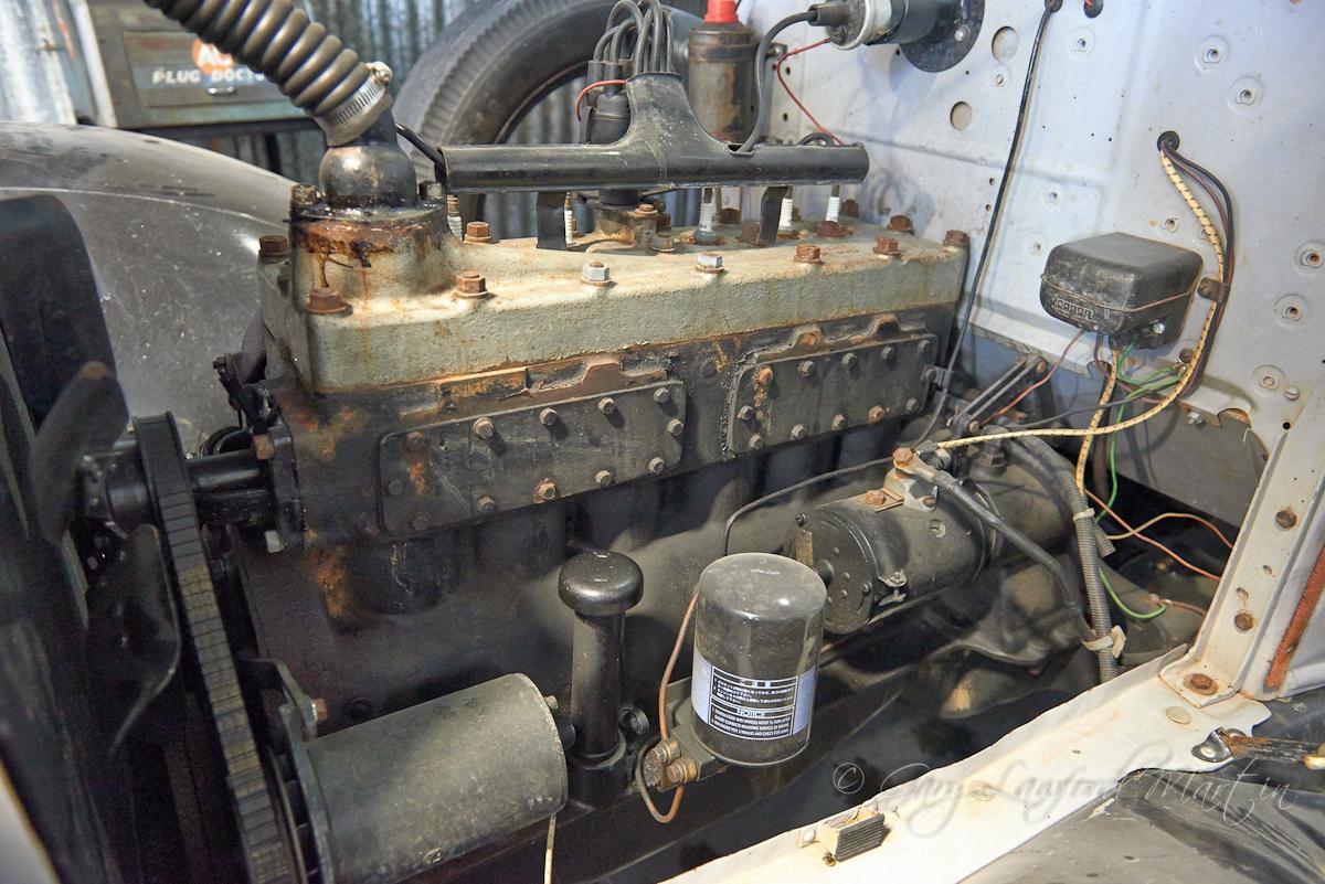 1930 Chrysler 66 Roadster Side Valve Engine