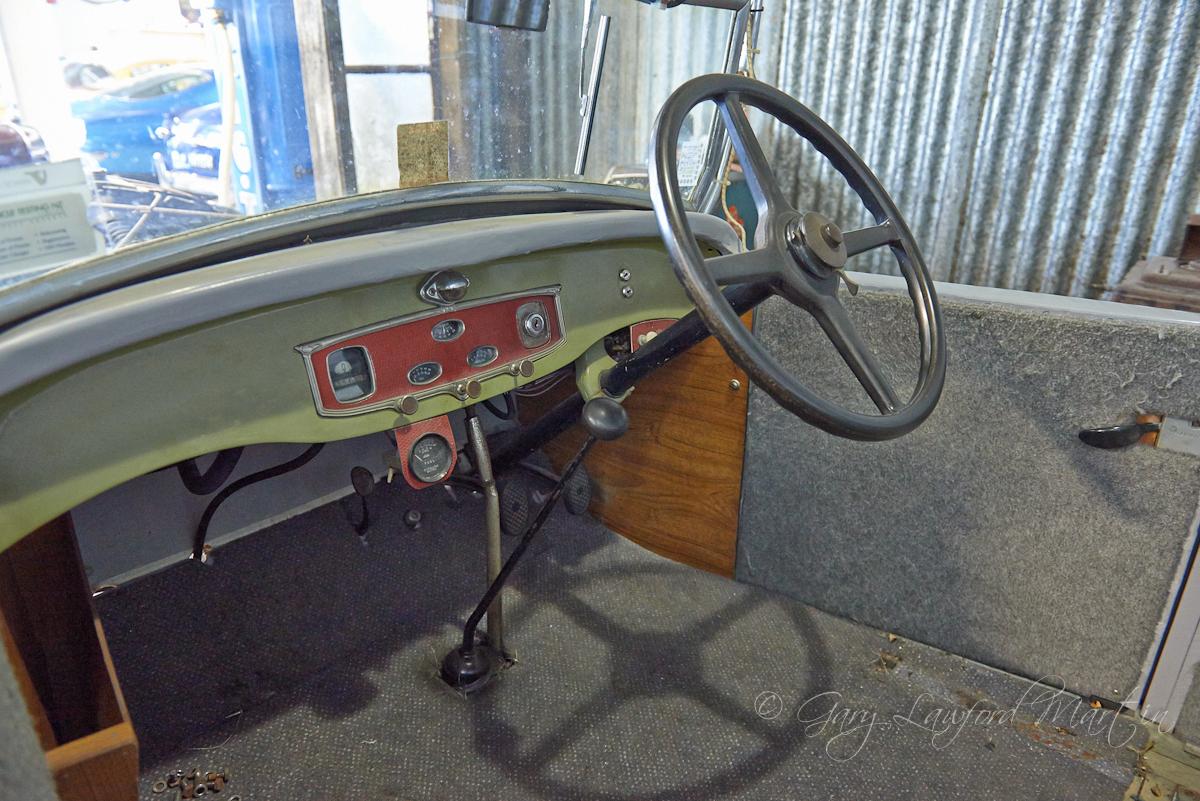 1930 Chrysler 66 Roadster Dash