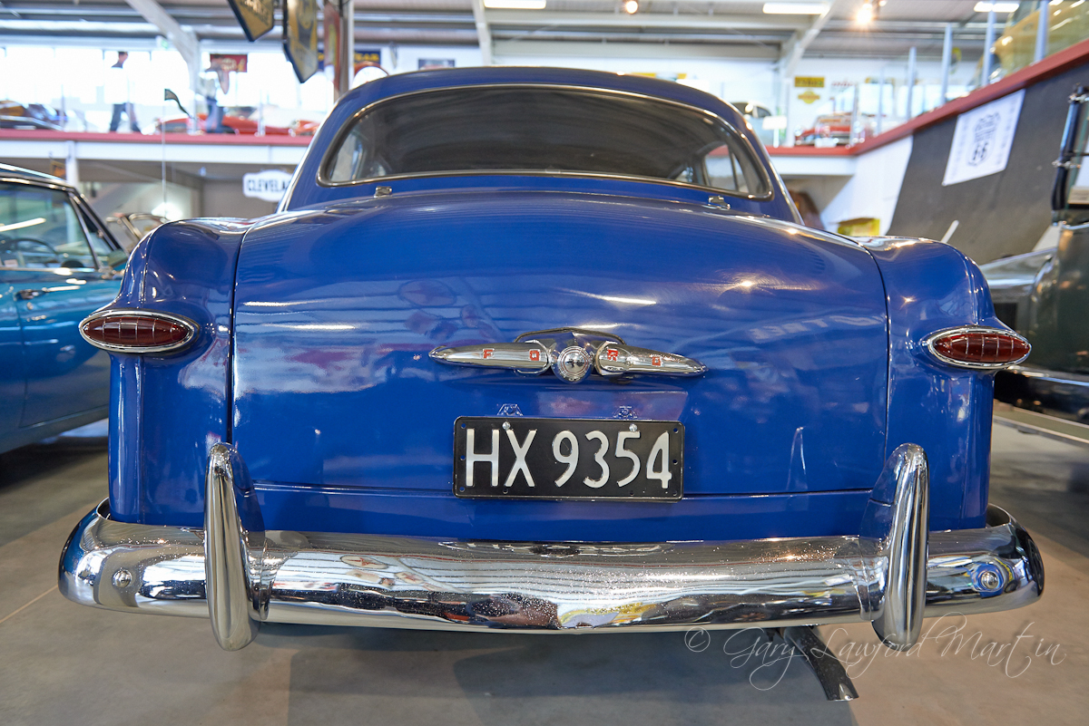Classic Bullet Nose 1949 Ford Tail