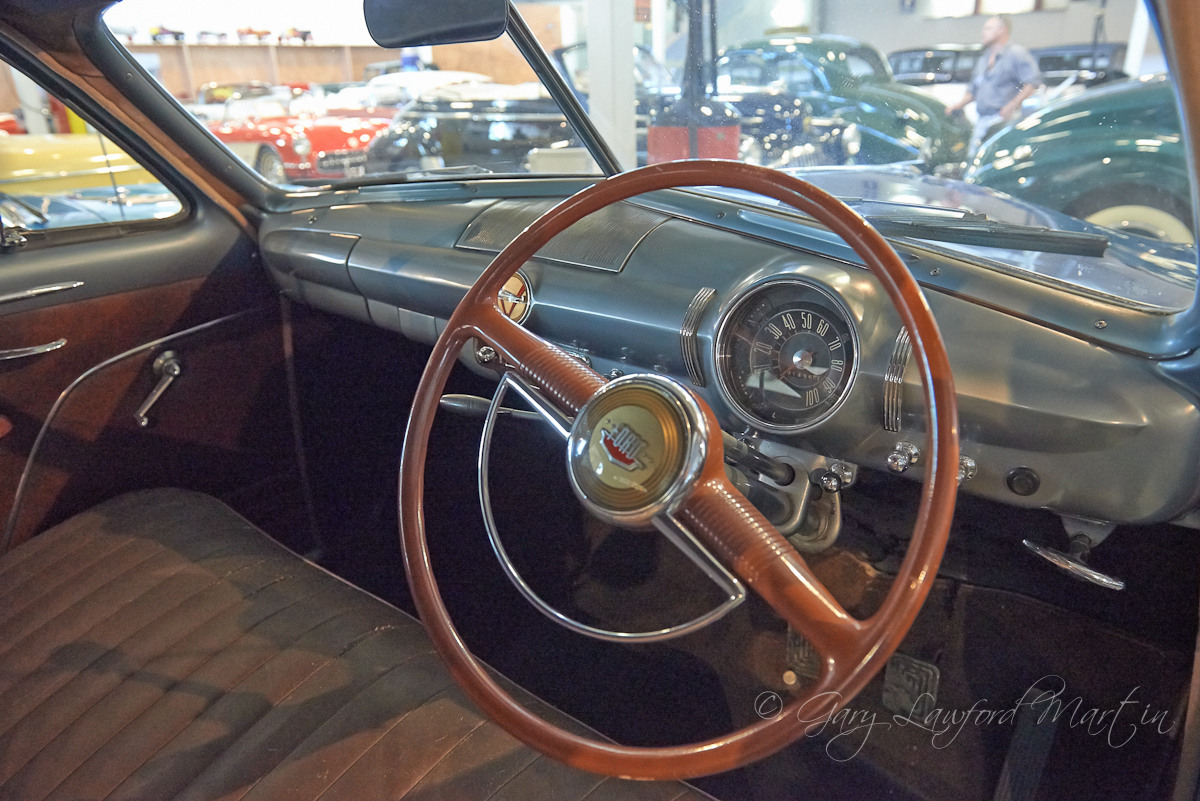 Classic Bullet Nose 1949 Ford Interior