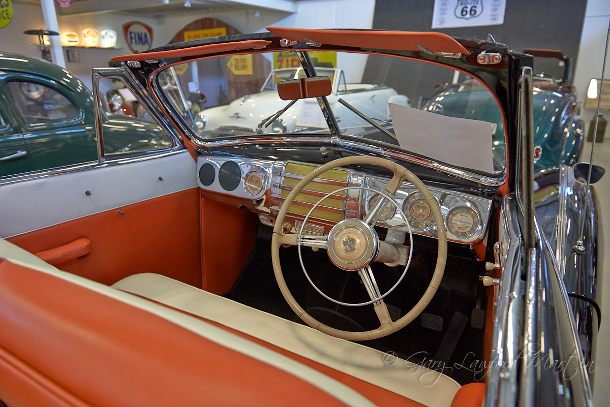 1942 Buick Eight interior