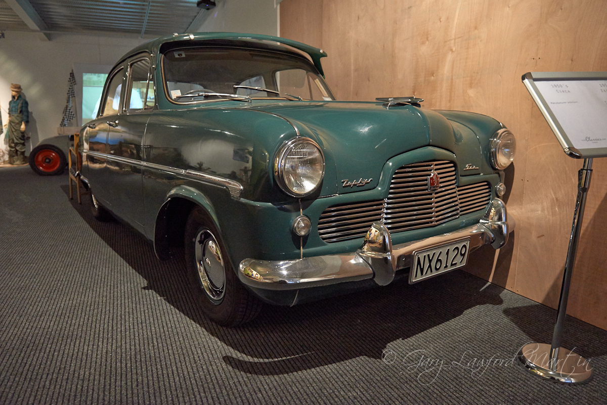 1950s Ford Zephyr Six