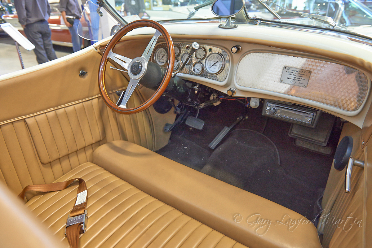 1936 Supercharged Auburn Interior
