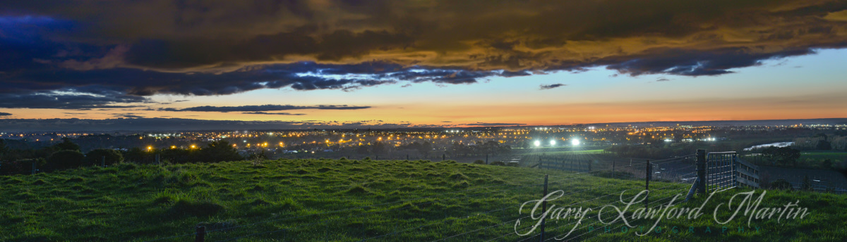 50 Branksome Place Panoramic Evening View