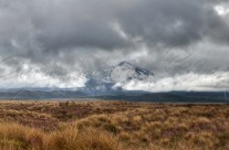 Shrouded Ruapehu Panorama